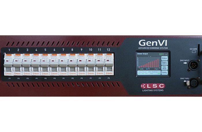 LSC Dimmer GENVI, 12x16A