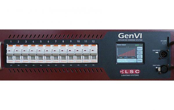 LSC Dimmer GENVI, 6x25A