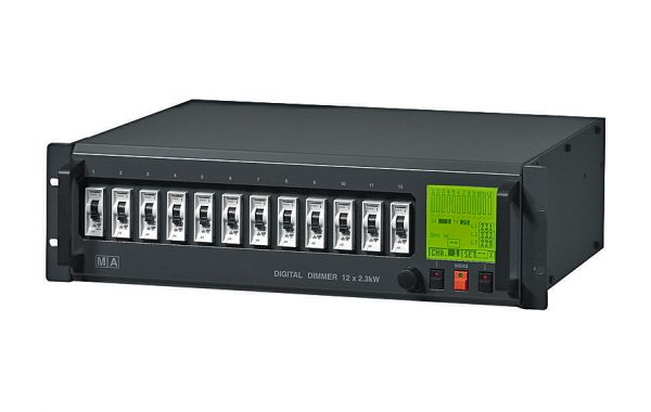 MA Lighting Digital Dimmer 12x 2.3kW