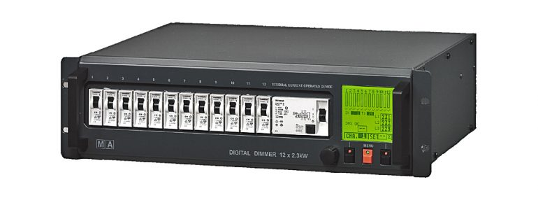MA Lighting Digital Dimmer 12x 2.3kW RCD