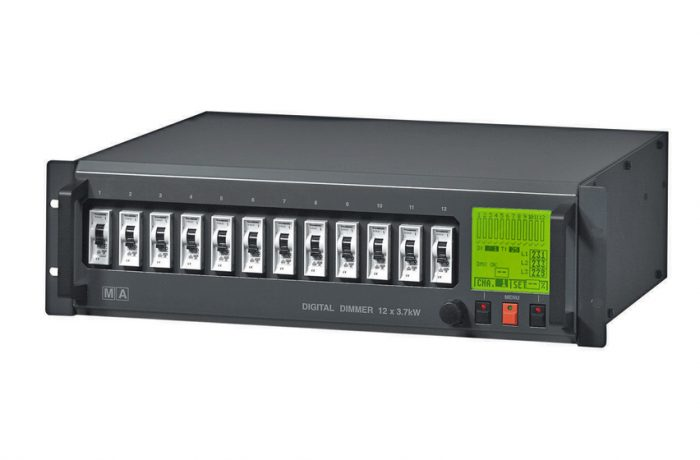 MA Lighting Digital Dimmer 12x 3.7kW