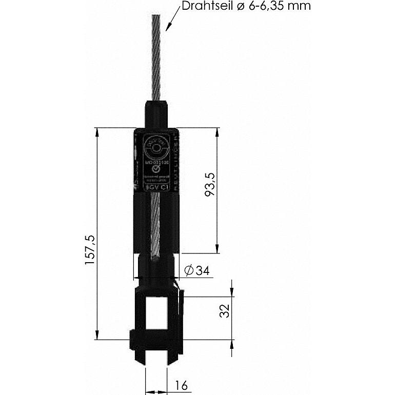 Reutlinger Drahtseilhalter 66SV-III ZWG - Avantgarde Beleuchtungs ...