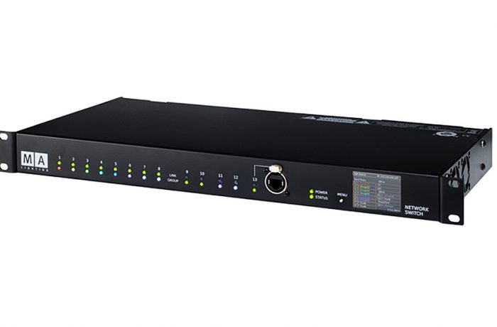 MA Network Switch Neutrik opticalCON